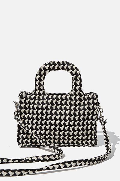 Mini Weekender Tote Bag, MONO