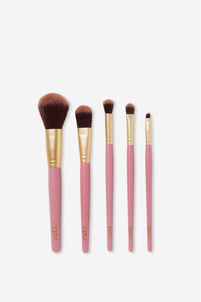 Large Brush Set, GOLD