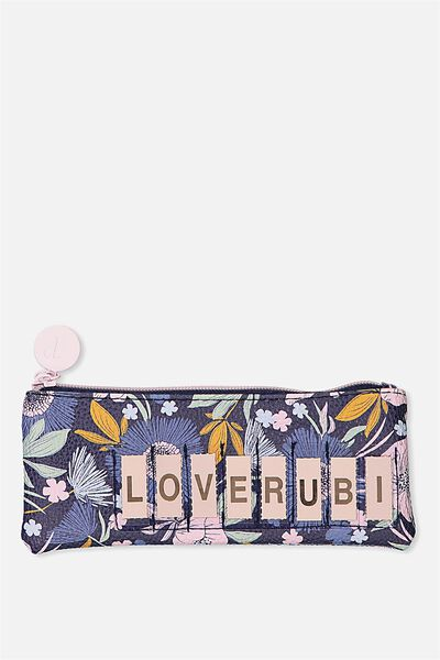 Personalised Mini Cosmetic Case, WILD FLORAL
