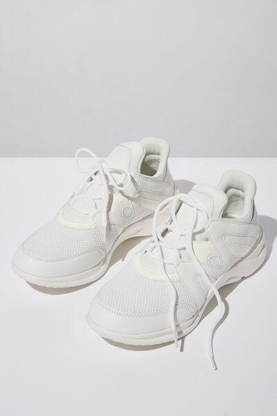 Lauren Sneaker, WHITE