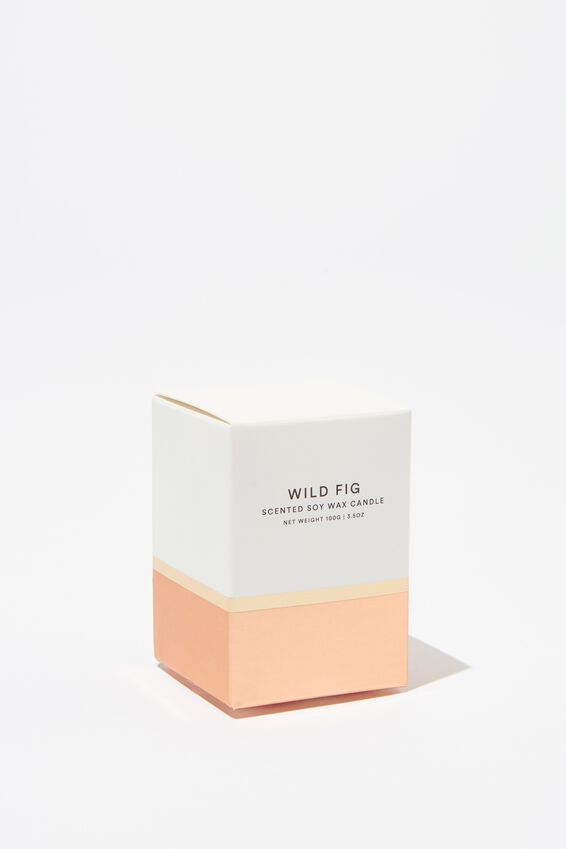 Body Embossed Candle, ROSE GOLD
