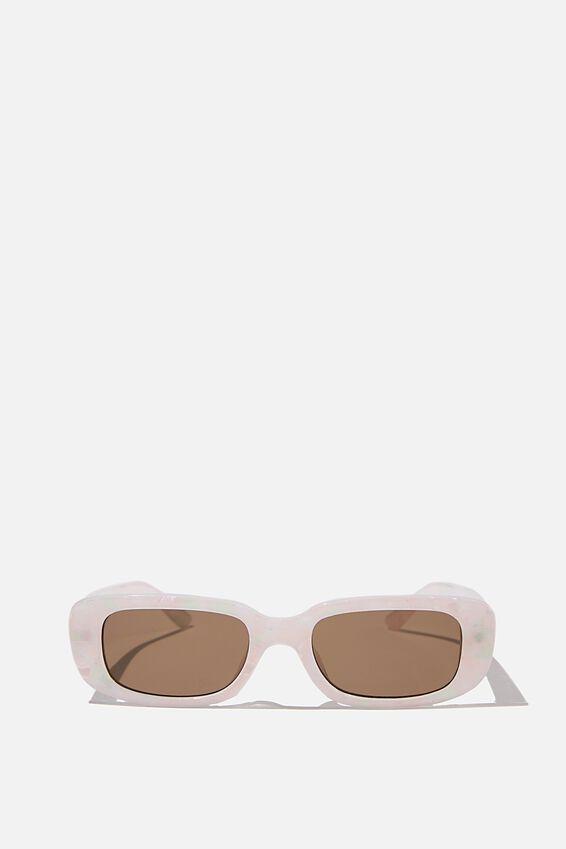 Abby Sunglasses, MULTI BLUSH