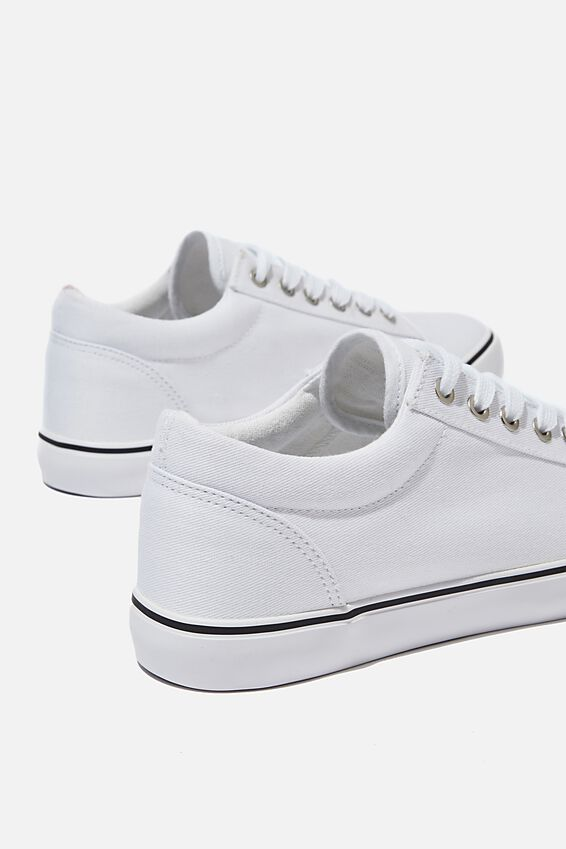 Joey Toe Cap Low Rise, BRIGHT WHITE