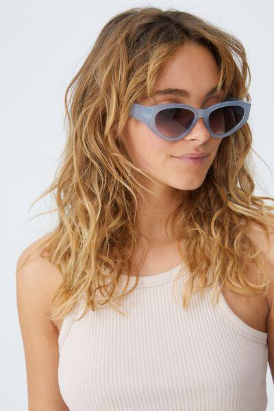 Taylor Cateye Sunglasses, SUN FADED DENIM