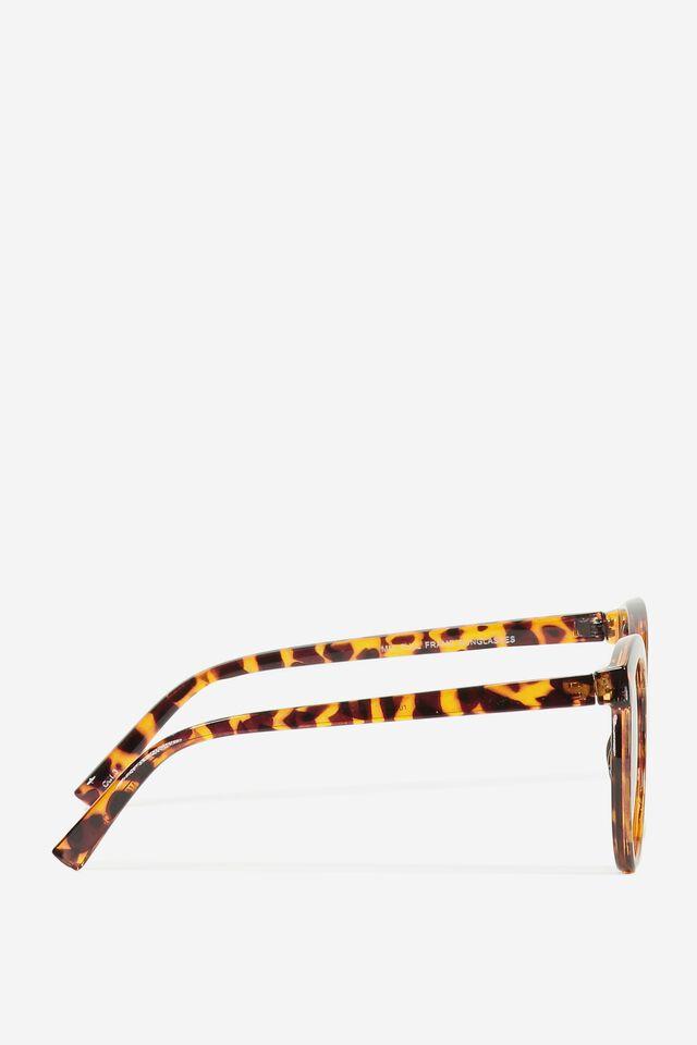 Mia Full Frame Sunglasses, TORT