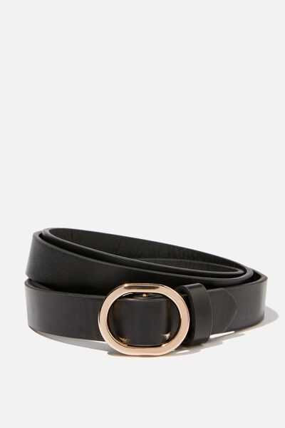 Mila Belt, BLACK
