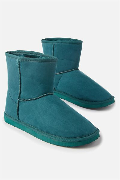 Short Home Boot, EMERALD
