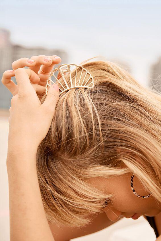 Aphrodite Hair Claw, GOLD