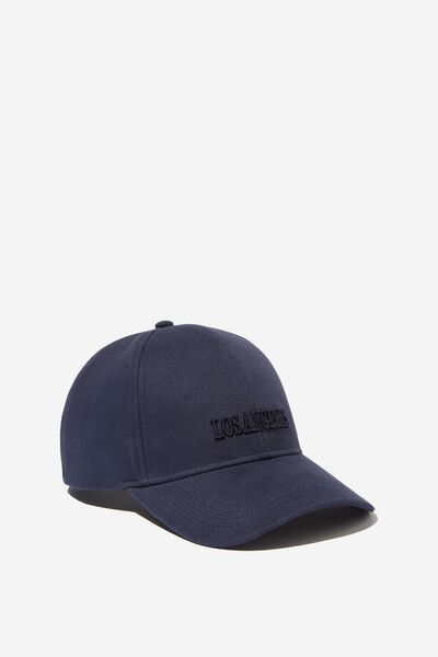 Selina Structured Cap, NAVY/LOS ANGELES