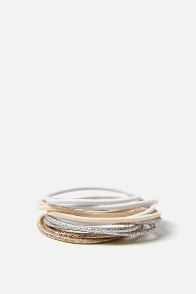 Hair Ties, BLONDE THIN