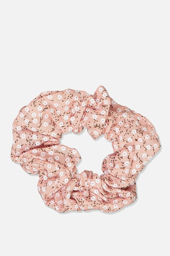 So Me Scrunchie, HEATHER ROSE DITSY FLORAL