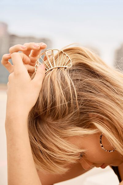 Aphrodite Hair Claw, GOLD