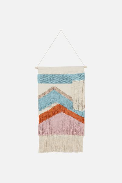 Woven Wall Hanging, WAVES