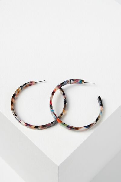 Savannah Tort Earring, MULTI