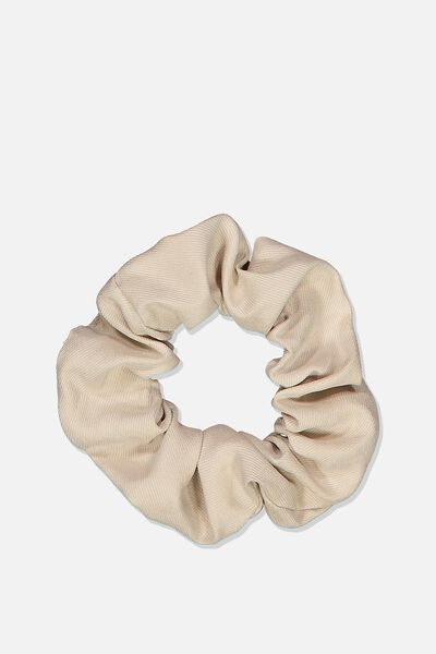 So Me Scrunchie, STONE SOFT BRUSHED