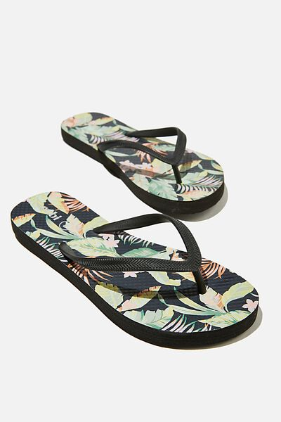 The Rubi Flip Flop, ALOHA TROPICAL DARK