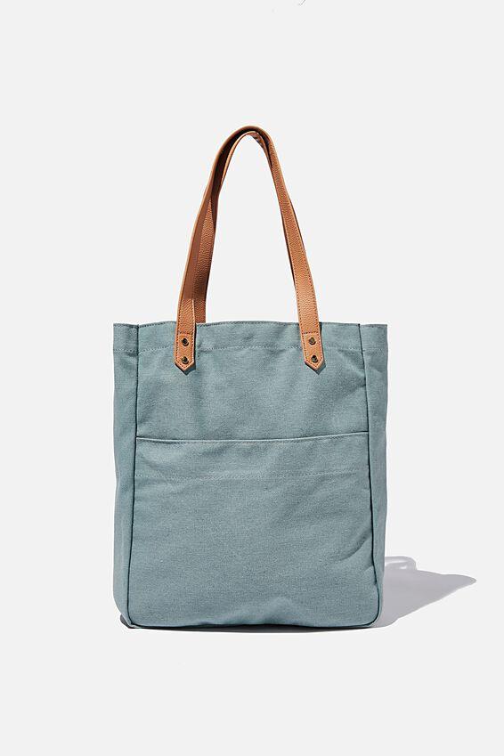 Olive Carryall Tote Bag, SAGE