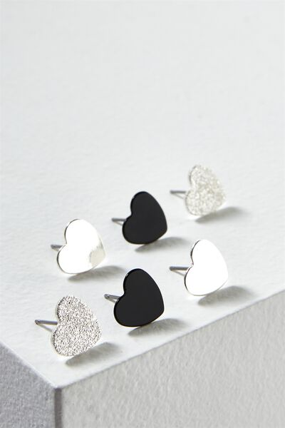 Grace Core Stud Pack, SILVER