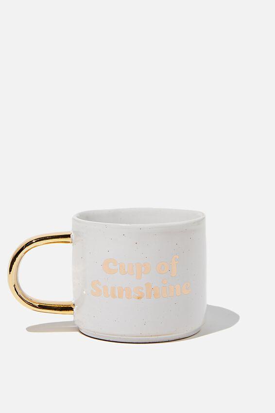 Sunday Mug, CUP OF SUNSHINE