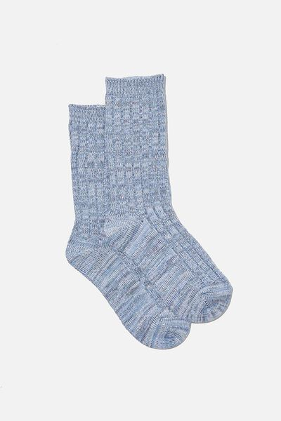 Cosy Sock, GRISAILLE MARLE