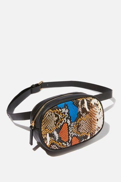 Brodie Belt Bag, VINTAGE SNAKE