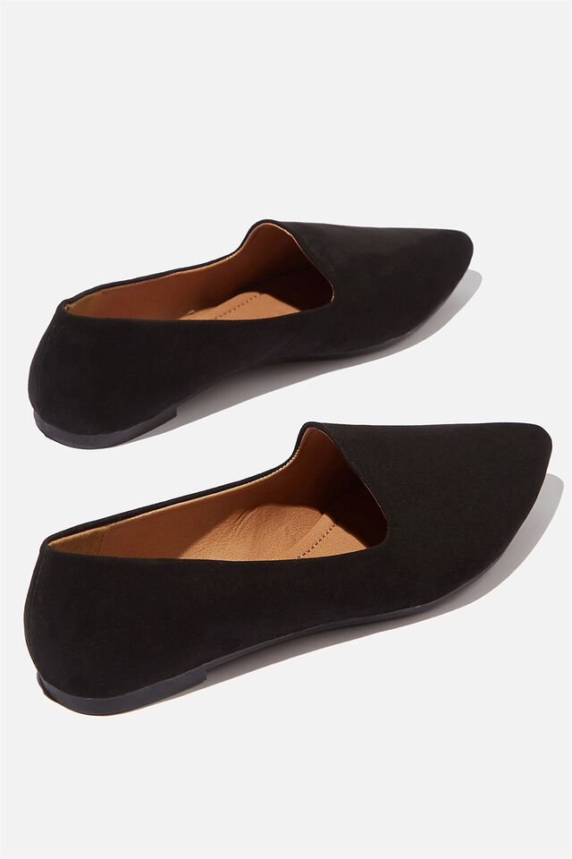Essential Tiana Slipper, BLACK MICRO