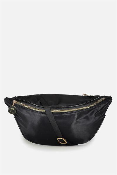 Elisa Belt Bag, BLACK