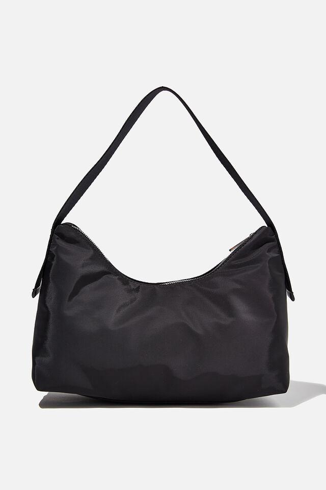 Nori Shoulder Bag, BLACK