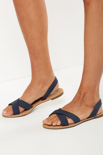 Everyday Banting Crossover Sandal, NAVY
