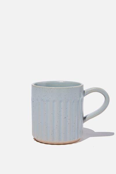 Etched Mug, SUNFADED DENIM