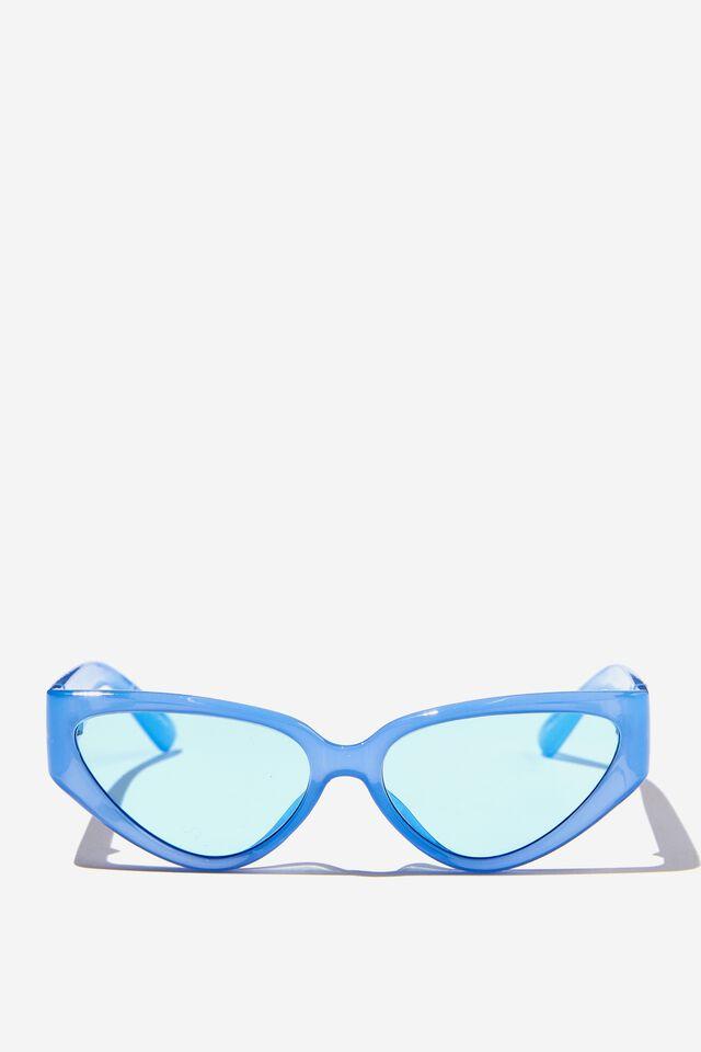 Molly Cateye Sunglasses, BLUE CRYSTAL