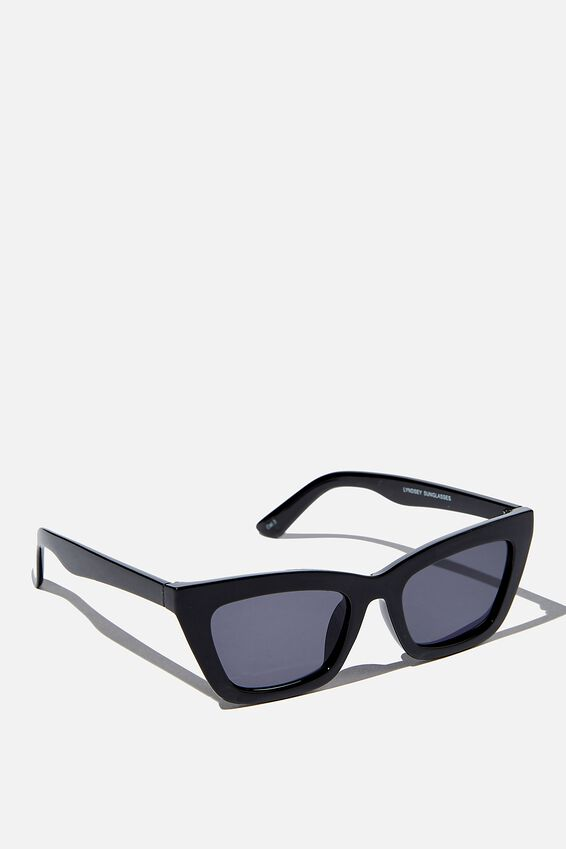Lyndsey Sunglasses, BLACK