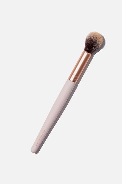 Small Powder Brush, PINK/ ROSE GOLD