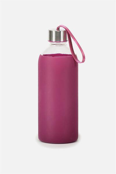 1L Hydrator Waterbottle, RASPBERRY
