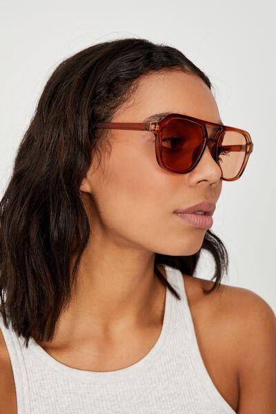 Jamie Aviator Sunglasses, DESERT GOLD