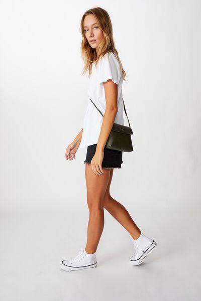 Felicity Cross Body Bag, KHAKI
