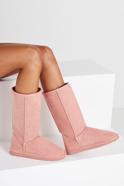 Tall Home Boot, ROSE DAWN