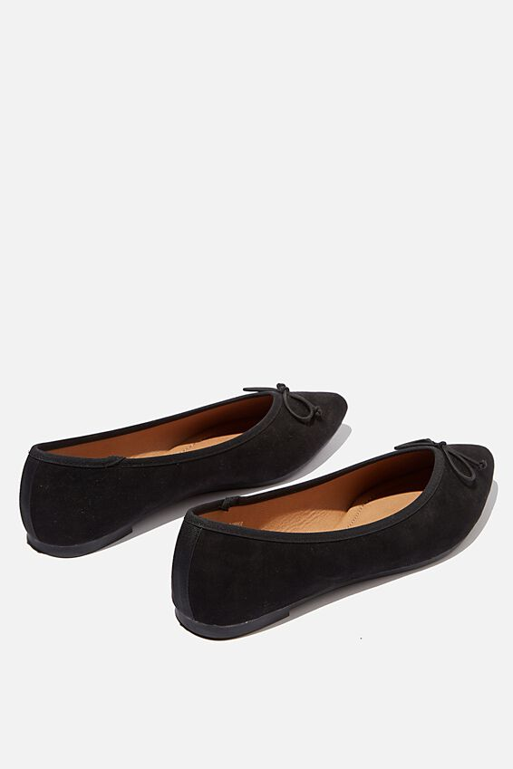 Essential Evelyn Point Ballet, BLACK MICRO