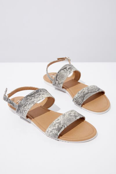 Everyday Marley Sandal, FAUX SNAKE