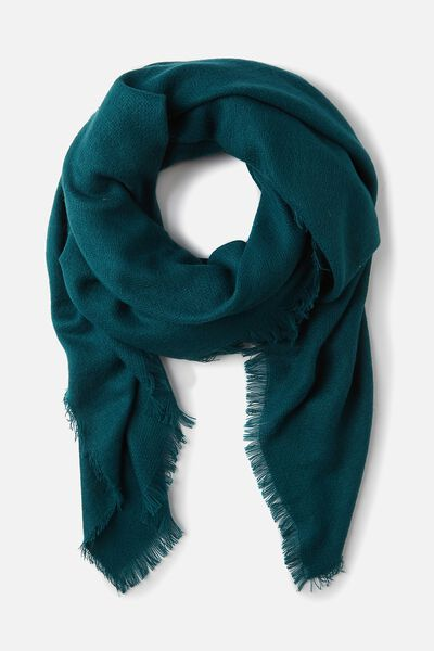 Take Me Away Scarf, DEEP LAKE