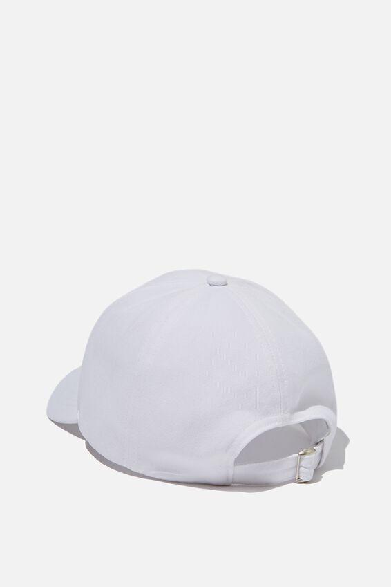Selina Structured Cap, WHITE/SANTORINI