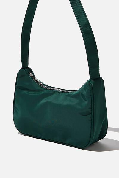Nylon Underarm Bag, HERITAGE GREEN