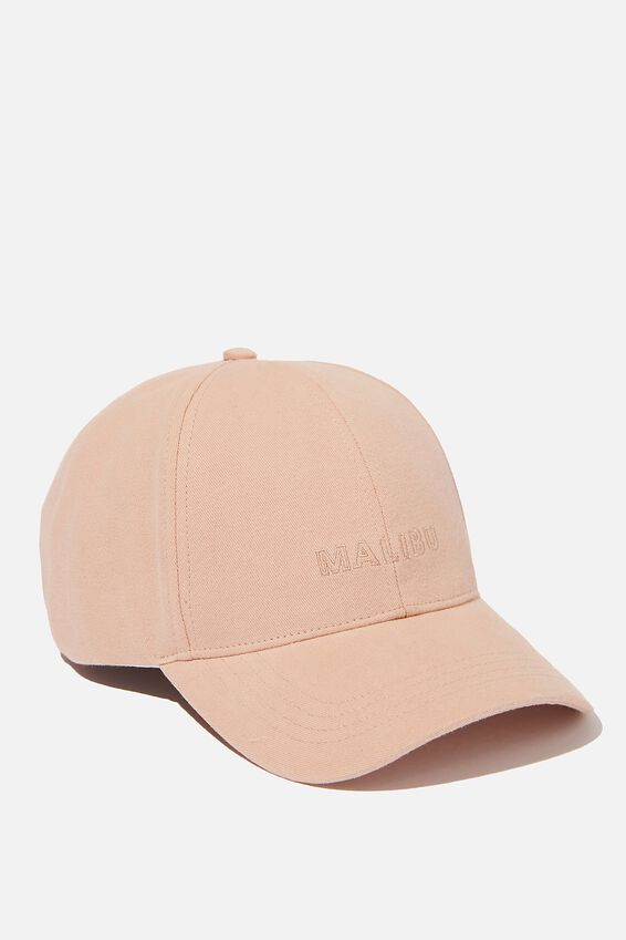 Selina Structured Cap, BRUSH/MALIBU