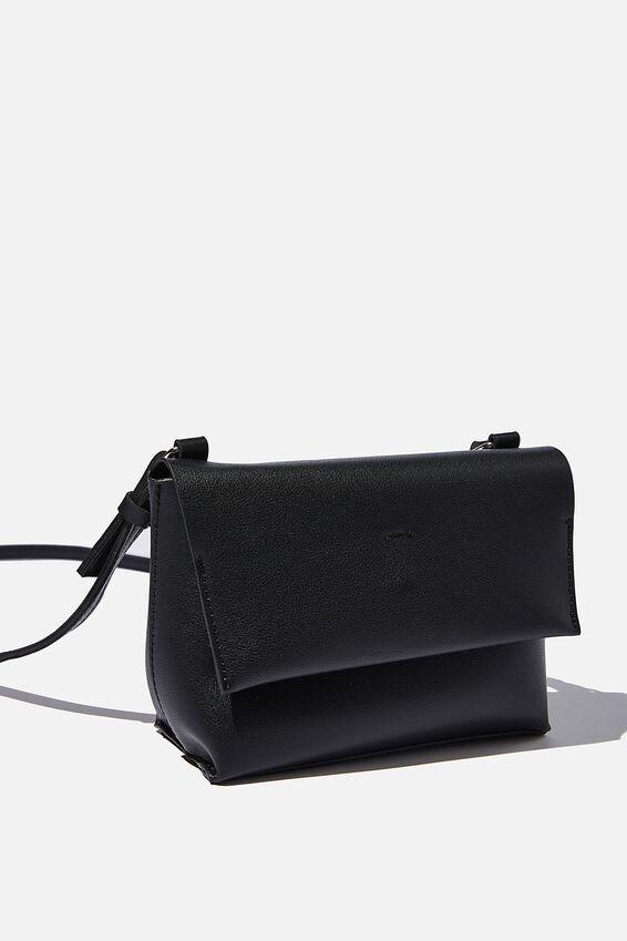 Whit Cross Body Bag, BLACK