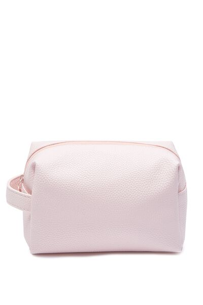 Overnight Cos Case, MATTE BABY PINK