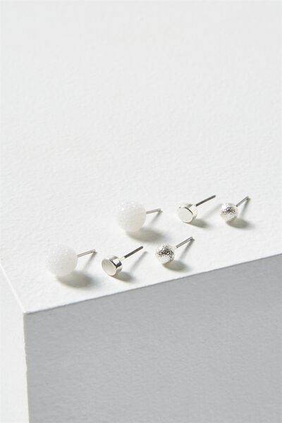 Sophie Core Stud Pack, SILVER