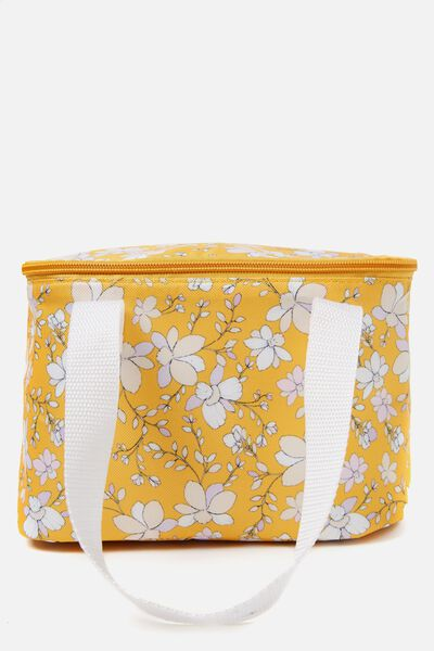 Chill Out Cool Bag, ORANGE FLORAL