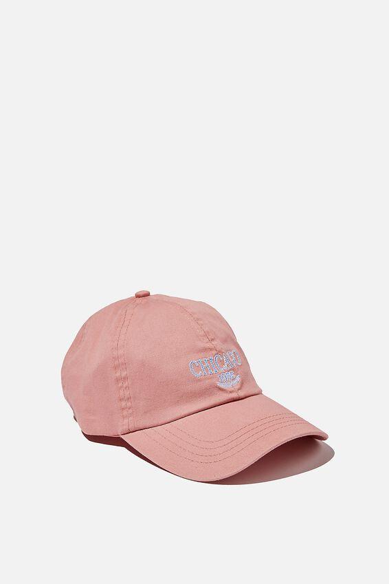 Kaia Cap, ROSE PINK/CHICAGO