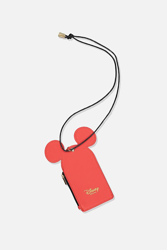Lcn Mickey Lanyard, RED