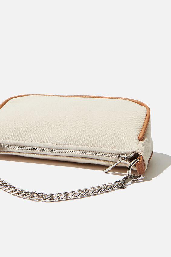 Sophia Chain Cross Body Bag, CHOC/HOUNDSTOOTH